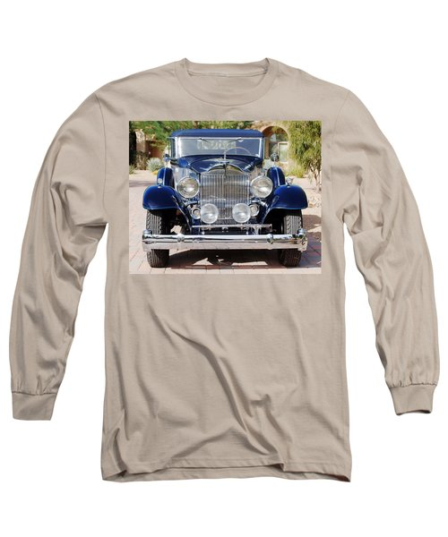 1933 Packard 12 Convertible Coupe Long Sleeve T-Shirt