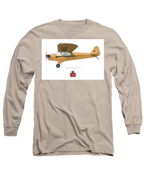 1939 Piper J3 Cub Long Sleeve T-Shirt