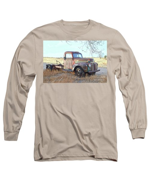 1940s Ford Farm Truck Long Sleeve T-Shirt
