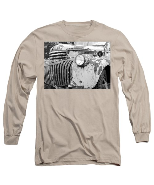 1946 Chevy Work Truck Fender And Grill Long Sleeve T-Shirt