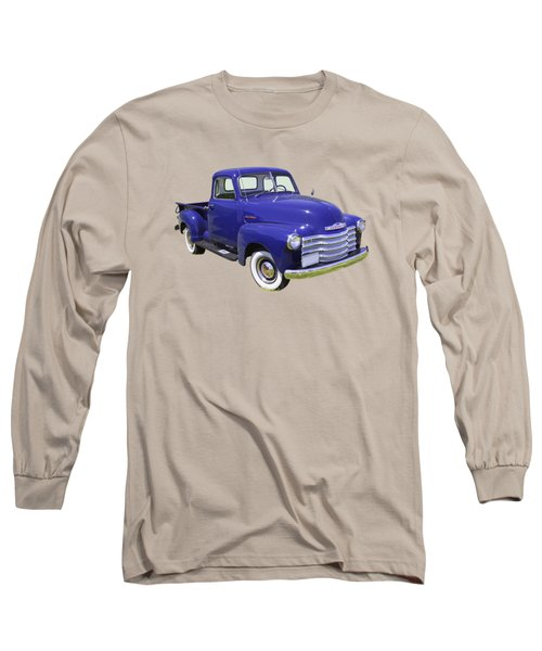 1947 Chevrolet Thriftmaster Antique Pickup Long Sleeve T-Shirt