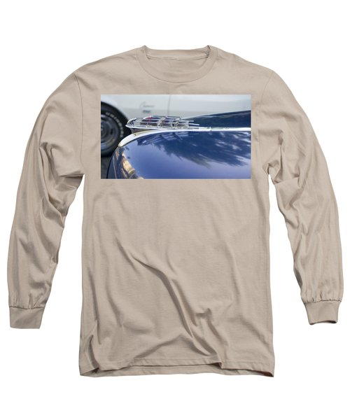 1949 Plymouth Super Deluxe Long Sleeve T-Shirt by Cathy Anderson