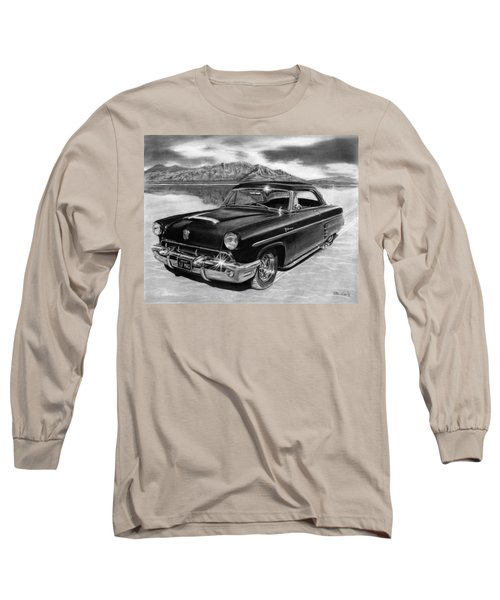 1953 Mercury Monterey On Bonneville Long Sleeve T-Shirt