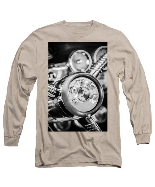 1958 Edsel Ranger Push Button Transmission 2 Long Sleeve T-Shirt