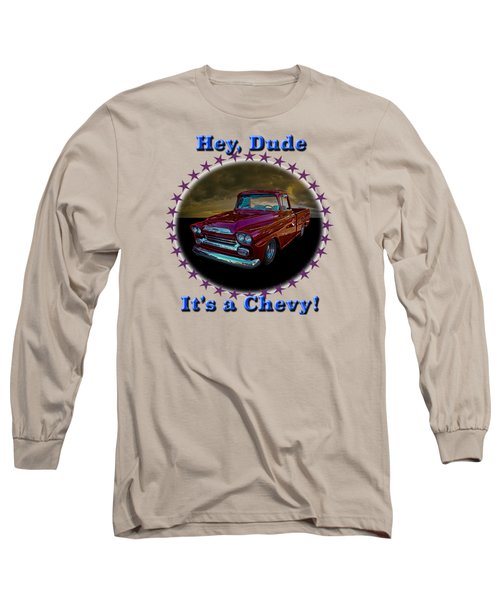 1959 Chevy Pickup Long Sleeve T-Shirt