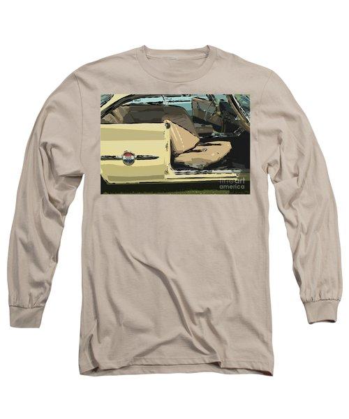 Long Sleeve T-Shirt featuring the photograph 1960 Chrysler 300-f  Muscle Car by David Zanzinger