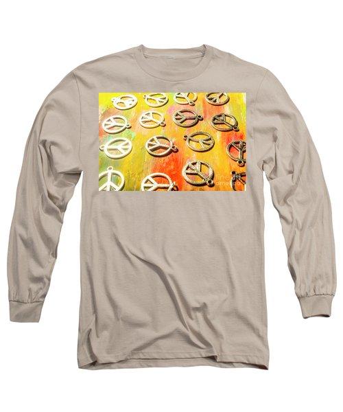 1960s Peace Movement Long Sleeve T-Shirt