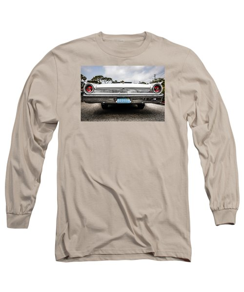 1961 Ford Galaxie 500 Long Sleeve T-Shirt by Chris Smith