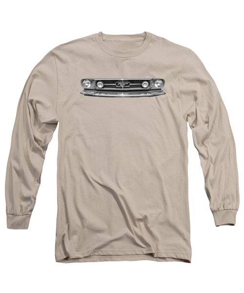 1965 Mustang Grilled Tee Long Sleeve T-Shirt