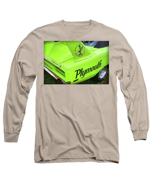 1970 Plymouth Superbird Long Sleeve T-Shirt by Gordon Dean II