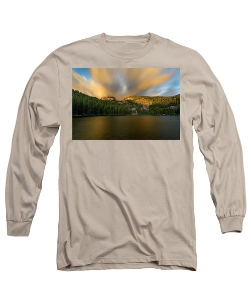 Long Sleeve T-Shirt featuring the photograph 2 / 51  Bear Lake's Hallett Peak #2 by John Gilbert