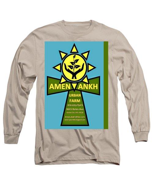 Amen Ankh Long Sleeve T-Shirt