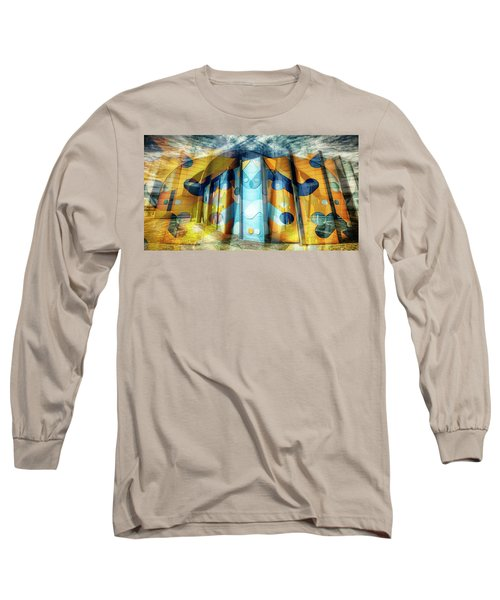 Long Sleeve T-Shirt featuring the photograph Architectural Abstract by Wayne Sherriff