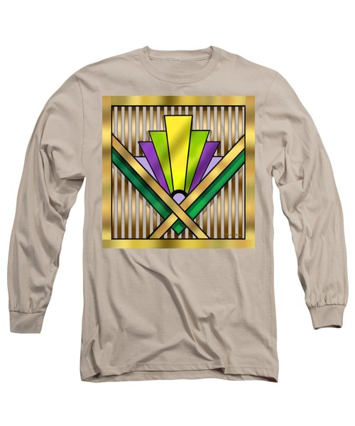 Art Deco 14 Transparent Long Sleeve T-Shirt