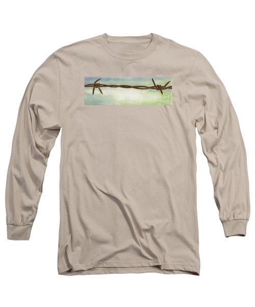 Auschwitz Long Sleeve T-Shirt by Annemeet Hasidi- van der Leij