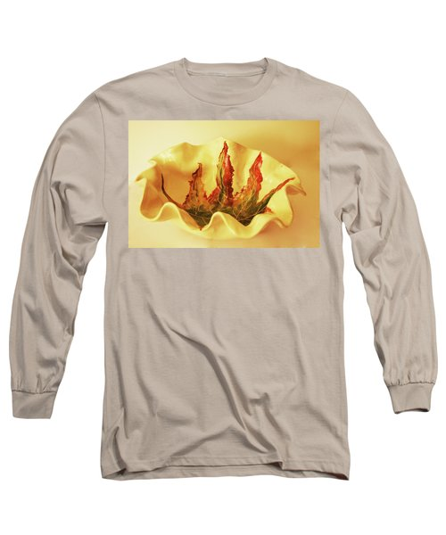 Big Bowel1 Long Sleeve T-Shirt by Itzhak Richter