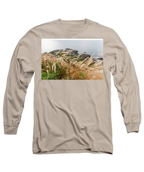 Cliffs At Kullaberg Long Sleeve T-Shirt