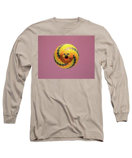 Colorful Abstract Hot Air Balloon Long Sleeve T-Shirt