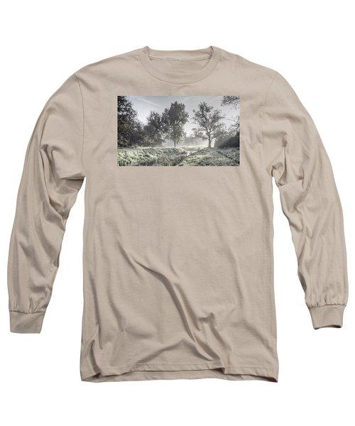 Colorful Autumn Landscape Long Sleeve T-Shirt by Odon Czintos