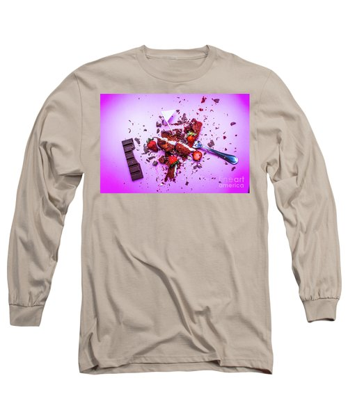 Death By Chocolate Long Sleeve T-Shirt