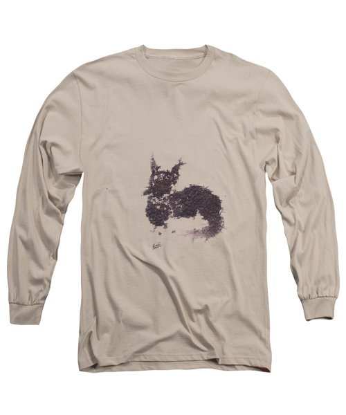 Electricat Long Sleeve T-Shirt by Marc Philippe Joly