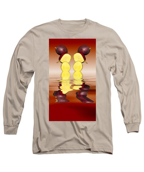 Fresh Ripe Mango Fruits Long Sleeve T-Shirt