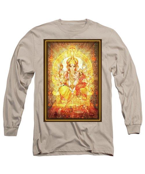 Ganesha Ganapati - Success Long Sleeve T-Shirt