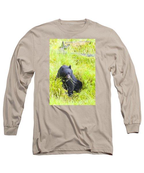 Got The Munchies Long Sleeve T-Shirt by Harold Piskiel