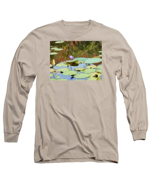 Lily Pond Long Sleeve T-Shirt by Kay Gilley