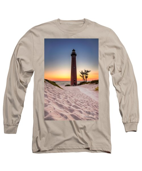 Little Sable Point Light Station Long Sleeve T-Shirt