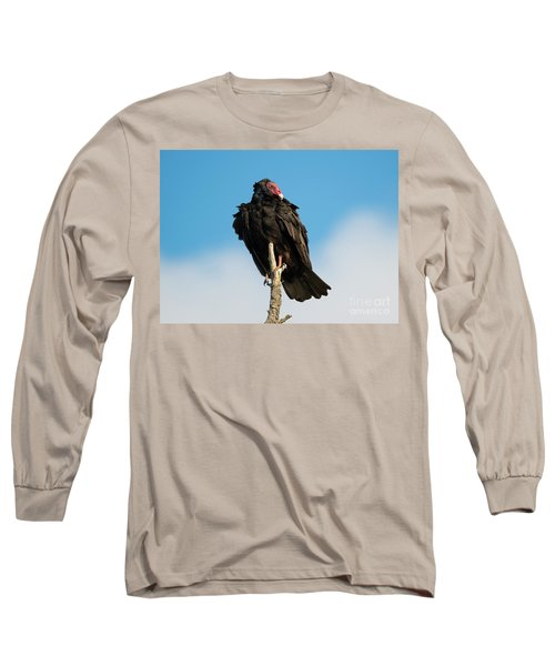 Looking For A Meal Long Sleeve T-Shirt by Mike Dawson