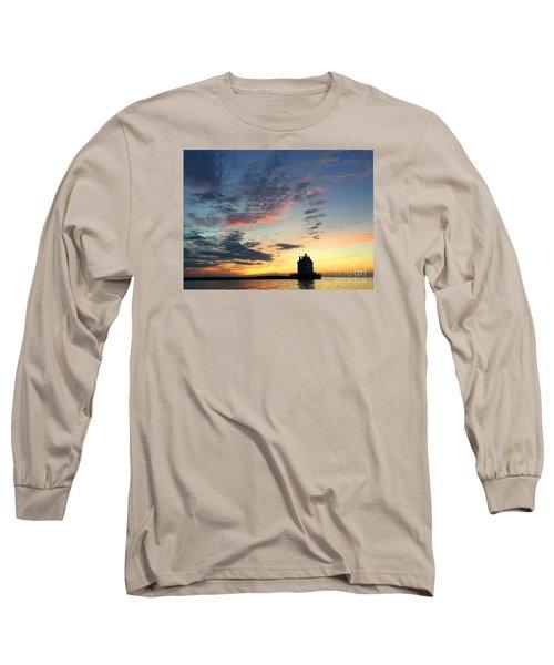 Lorain Lighthouse Long Sleeve T-Shirt