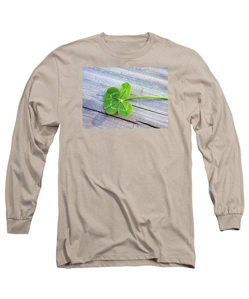Lucky Long Sleeve T-Shirt by Kristin Elmquist