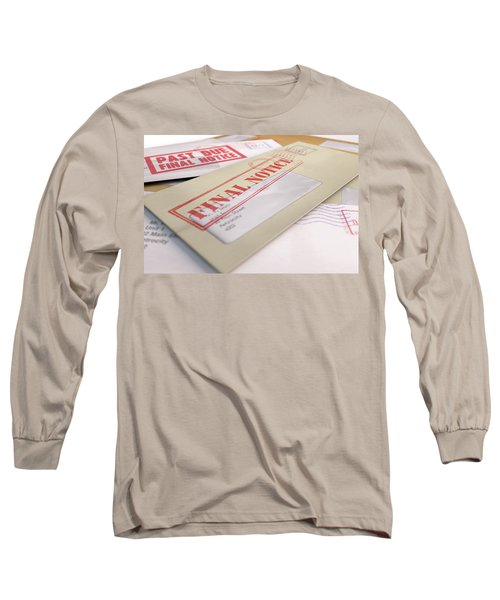 Mail Stack Long Sleeve T-Shirt