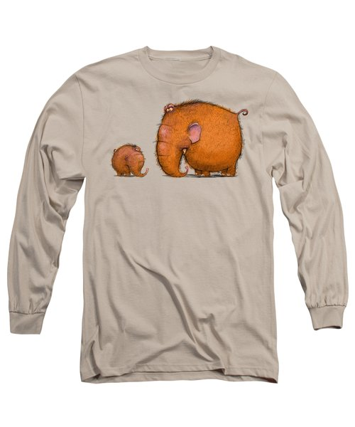 Mammothz Long Sleeve T-Shirt by Andy Catling