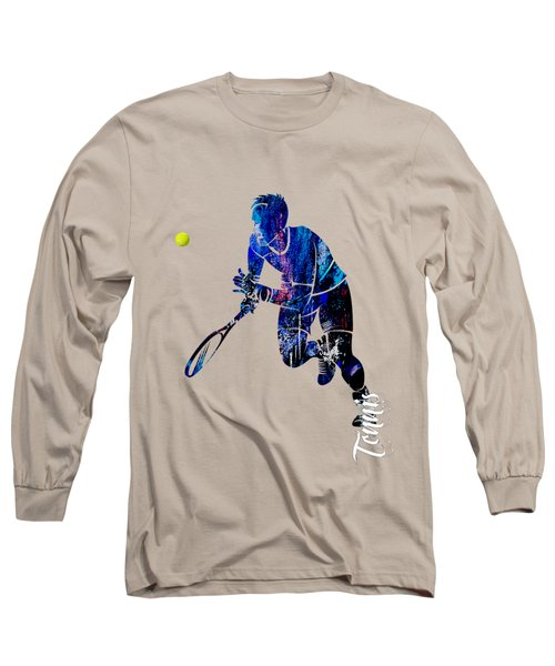 Mens Tennis Collection Long Sleeve T-Shirt