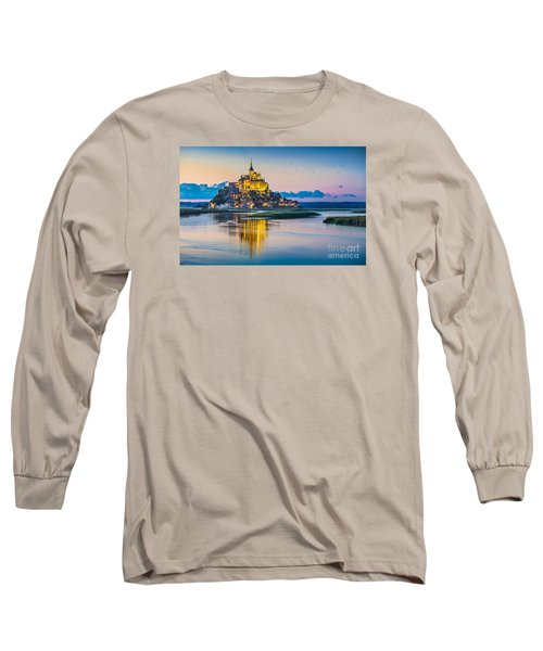 Mont Saint Michel Long Sleeve T-Shirt