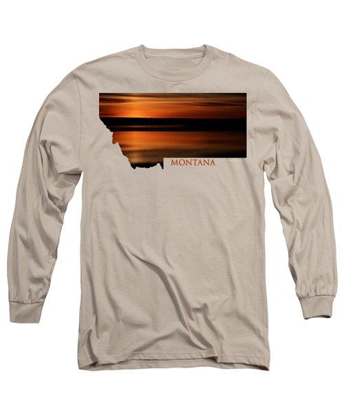 Montana- Sunrise Long Sleeve T-Shirt
