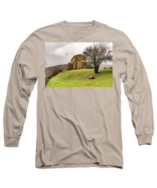 Mountains And Valleys All Around Long Sleeve T-Shirt
