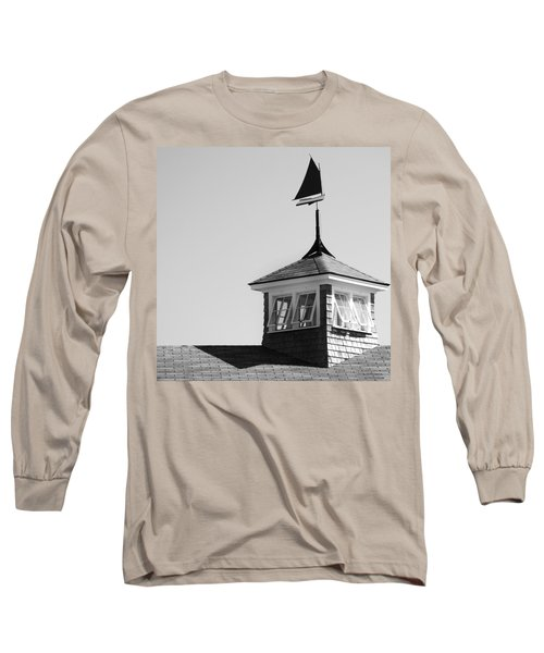 Nantucket Weather Vane Long Sleeve T-Shirt by Charles Harden