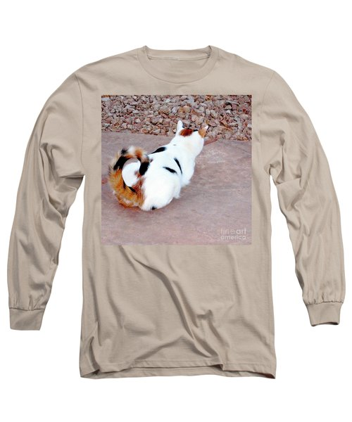 New Upload Long Sleeve T-Shirt by Phyllis Kaltenbach