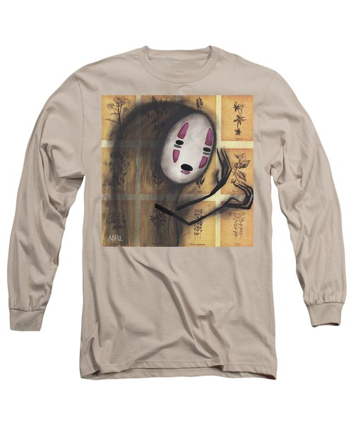No Face Long Sleeve T-Shirt by Abril Andrade Griffith
