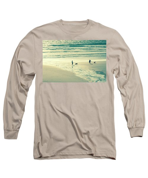 Oceanside Oregon Long Sleeve T-Shirt by Amyn Nasser