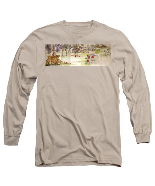 olives and grapes in Italy album  Long Sleeve T-Shirt