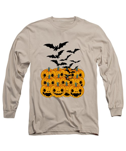Pumpkin Long Sleeve T-Shirt by Mark Ashkenazi