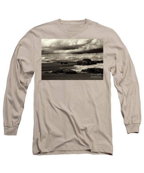 Long Sleeve T-Shirt featuring the photograph Seen Better Days by Mike Dawson