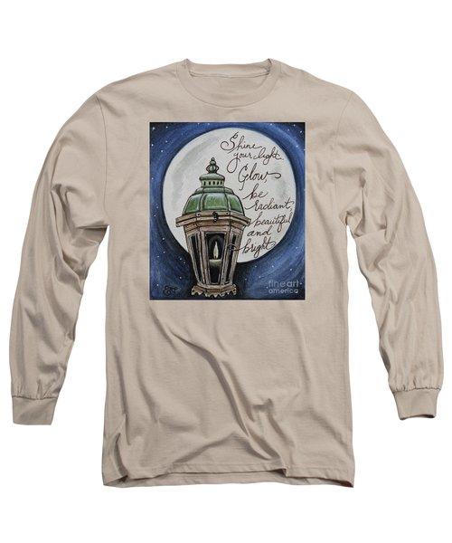 Shine Your Light Long Sleeve T-Shirt by Elizabeth Robinette Tyndall