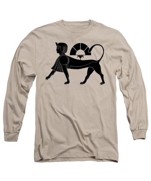 Sphinx - Mythical Creature Of Ancient Egypt Long Sleeve T-Shirt