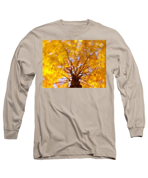 Spinning Maple Long Sleeve T-Shirt