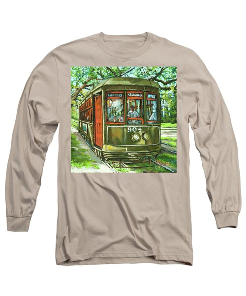 St. Charles No. 904 Long Sleeve T-Shirt by Dianne Parks